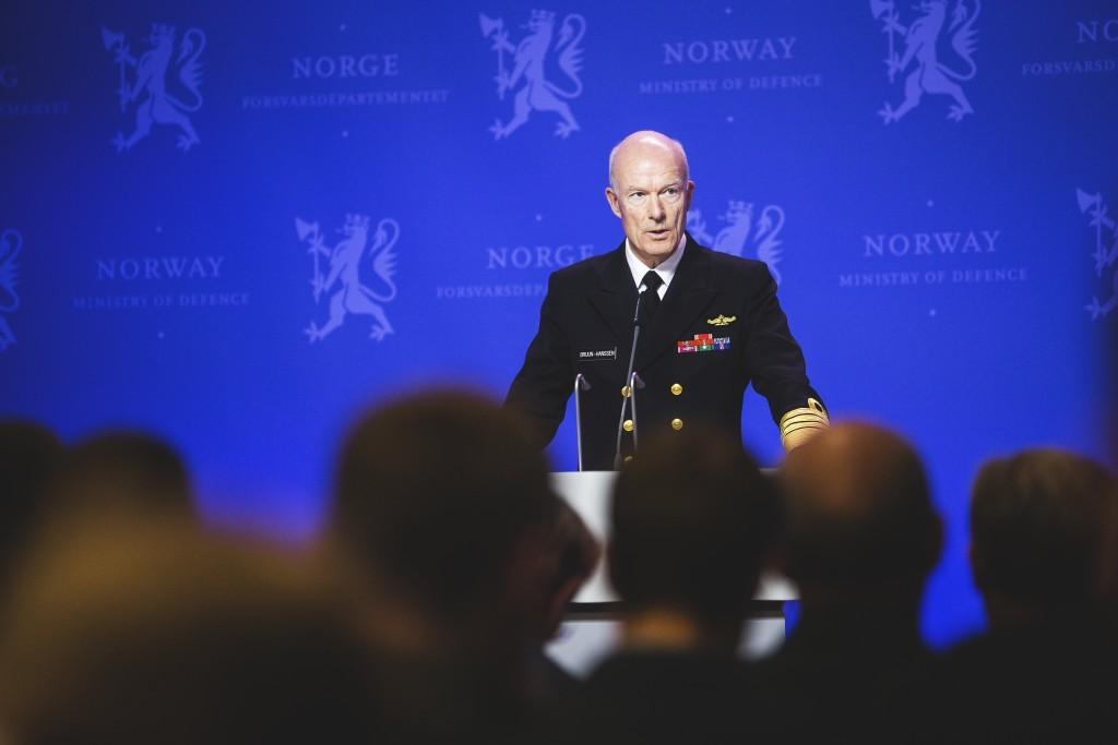 Forsvarssjef Haakon Bruun-Hanssen. Foto: FORSVARETS MEDIESENTER