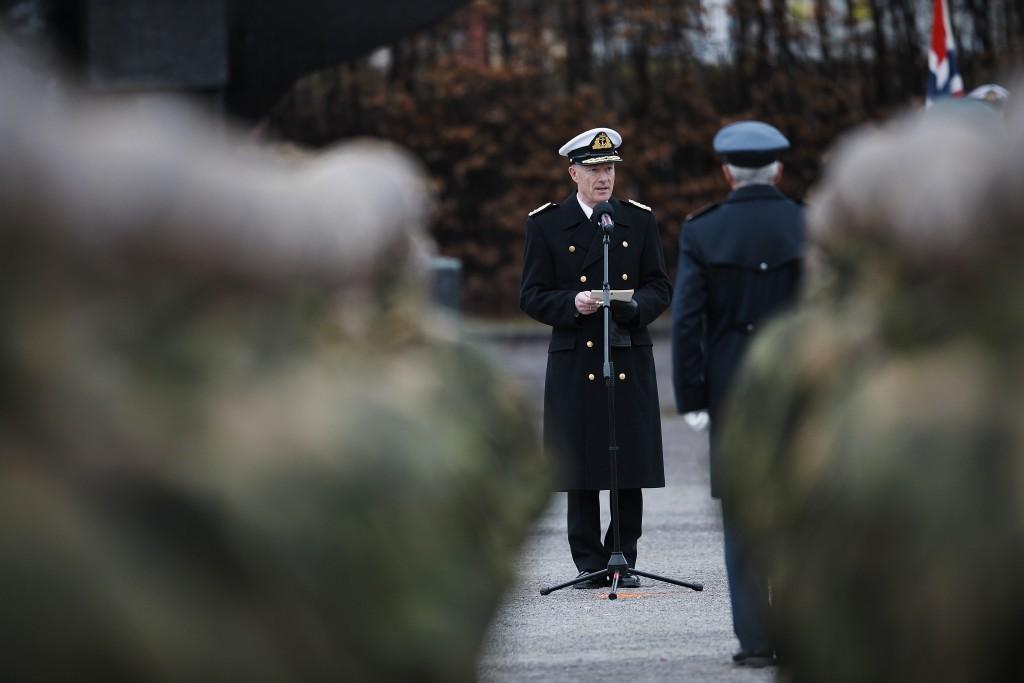 Forsvarssjef Haakon Bruun-Hanssen. Foto: TORBJØRN KJOSVOLD/FORSVARET