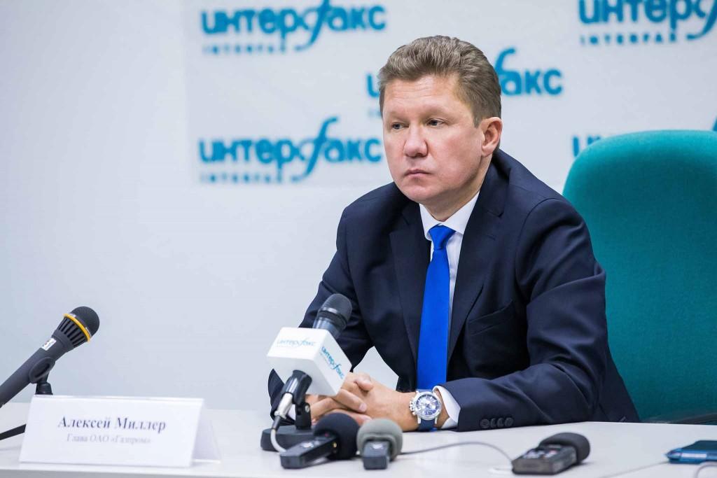 SKRUDDE AV GASSEN: Toppsjef Aleksej Miller i Gazprom har igjen skrudd av gasskranene til Ukraina etter uenigheter om prisen. Foto: GAZPROM
