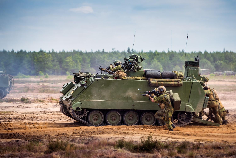– På historisk bunnivå, langt unna NATO-krav