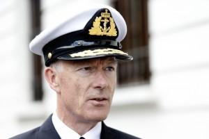 Forsvarssjef og admiral Haakon Bruun-Hanssen. Foto: FORSVARET