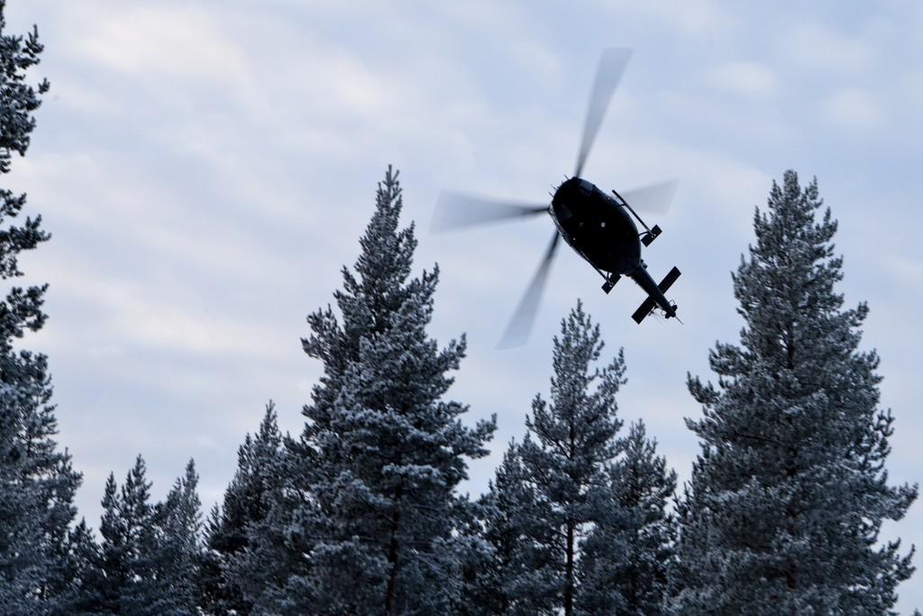 SOF-HELI: Forsvarssjefen ønsker å etablere en SOF-heli-ving bestående av ni Bell-412. Men det er uklart om Beredskapstroppen får være med. Foto: PEDER TORP MATHISEN/FORSVARET