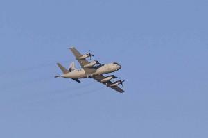 FORSVINNER? Orion-flyene foreslås faset ut i Forsvarets nye struktur. De skal i stedet erstattes med droner og på sikt nye overvåkningsfly. Her er ett av dem fra 333-skvadronen i lufta utenfor Andøya. Foto: PEDER TORP MATHISEN / FORSVARET