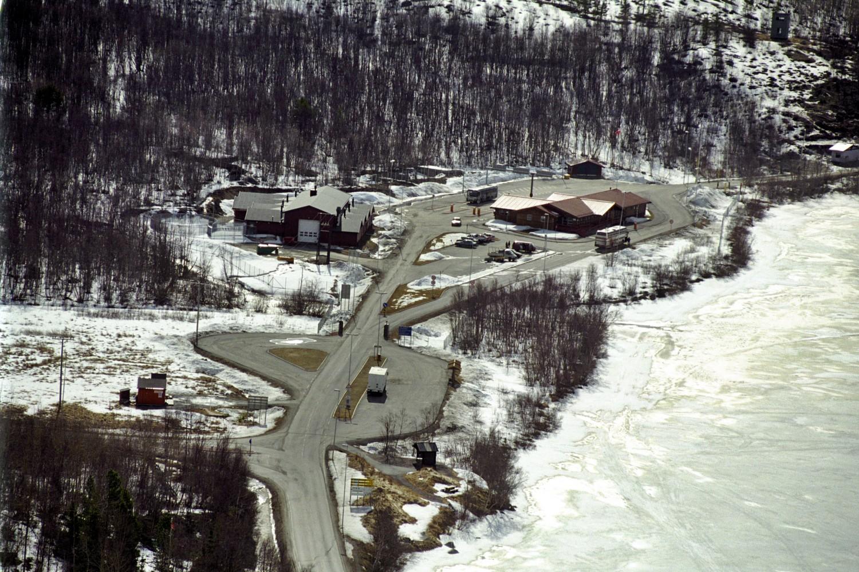NORSK-RUSSISK GRENSE: Storskog grensestasjon i Sør-Varanger. Foto: PER THRANA/FORSVARET