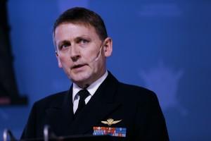 FS-SJEF: Kontreadmiral Nils Johan Holte. Foto: TORBJØRN KJOSVOLD/FORSVARET