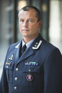 Oberstløytnant Eystein Kvarving. Foto: MATS GRIMSÆTH/FORSVARET