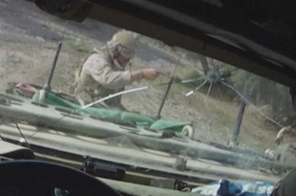 BLE BESKUTT: Soldater fra KJK og Marinejegerkommandoen havnet i et bakholdsangrep i Afghanistan 2. mai 2010. Foto: ???