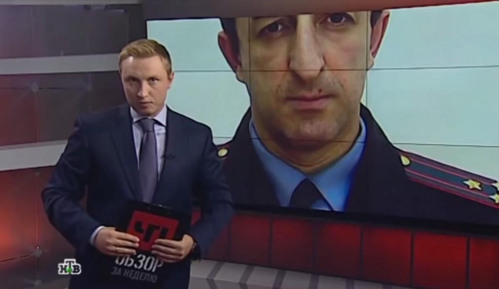 ANGRET SEG: I den russiske TV-dokumentaren står en tidligere FSB-oberst fram og forteller om en dramatisk avhopping til Norge. Deretter angret han seg og dro tilbake til Russland. Foto: SKJERMPDUMP FRA NTV