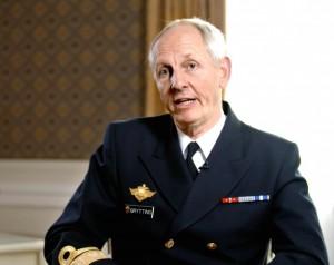 Kontreadmiral Trond Grytting. Foto: ALDRIMER.NO