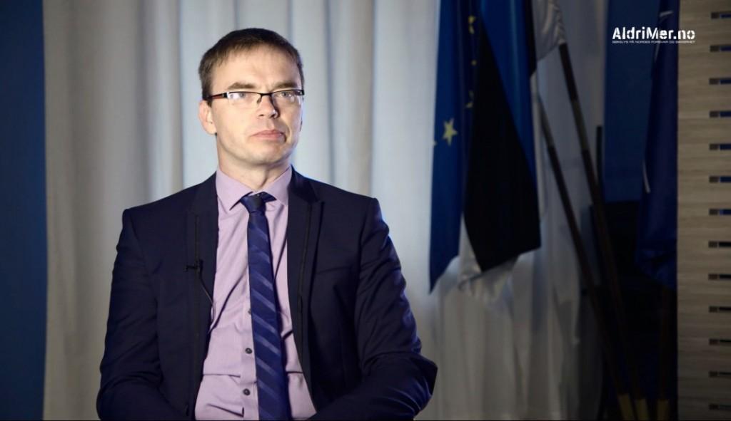 BØR BEKYMRE FLERE: Tidligere forsvarsminister i Estland, Sven Mikser, slår fast at det er flere land som bør bekymre seg over den eskaleringen som de baltiske landene er de første til å merke. Foto: ALDRIMER.NO