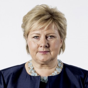 Erna Solberg. Foto: THOMAS HAUGERSVEEN/ SMK