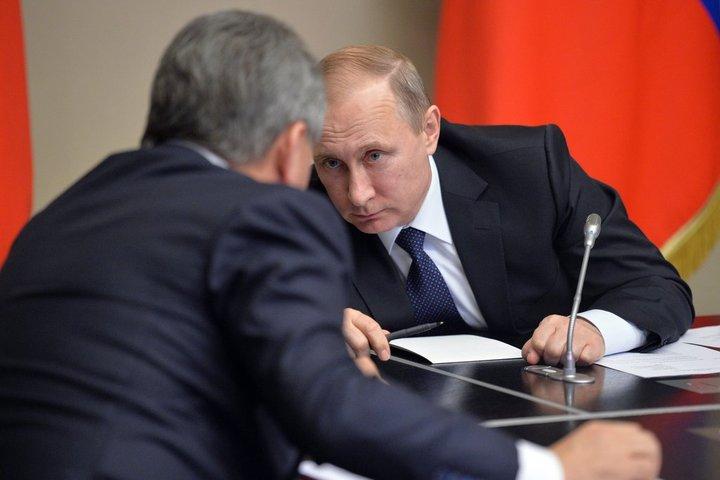 TESTER GRENSENE: Vladimir Putin og Russland tester Vesten og NATOs grenser, mener ekspert. Foto: KREMLIN.RU