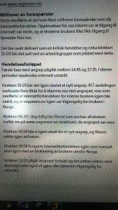 ADVARSEL: Denne advarselen gikk ut til ansatte i Statens vegvesen tidligere i mai.