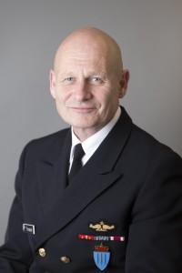 Kontreadmiral Håkon Tronstad er stabssjef og nestkommanderende ved Forsvarets operative hovedkvarter (FOH). Foto: HÅVARD GRIMSBO HANSSEN/FORSVARET