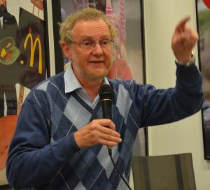 PROFESSOR: Wilhelm Agrell. Foto: BENGT OBERGER / WIKIPEDIA COMMONS
