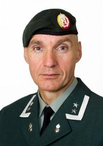 TALSMANN: Oberstløytnant Ivar Moen ved Forsvarets operative hovedkvarter (FOH). Foto: FOH