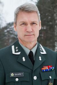 FORSTÅR FRUSTRASJONEN: Oberstløytnant Nils Arne Skaret i Heimevernsstaben forstår mannskapene frustrasjon, og bekrefter innførselsstopp og redusert aktivitet i Heimevernet. FOTO: Forsvaret