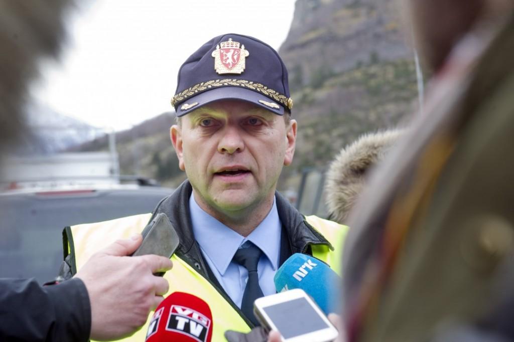 AVVISENDE: Lensmann Åge Løseth i Fjaler. Foto: SCANPIX