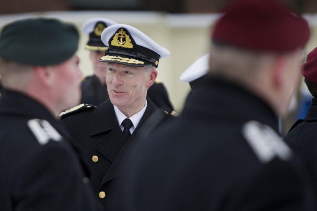 Forsvarssjef Haakon Bruun-Hanssen. Foto: TORGEIR HAUGAARD/FORSVARET