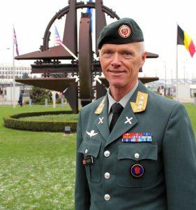 Generalløytnant Robert Mood. Foto: HANNE OLAFSEN/FORSVARET