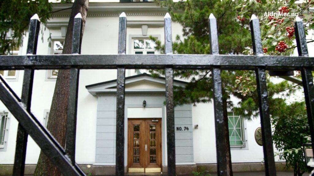 MANGE SPIONER: Over halvparten av diplomatene ved den russiske ambassaden i Oslo er i realiteten etterretningsoffiserer. Foto: ALDRIMER.NO