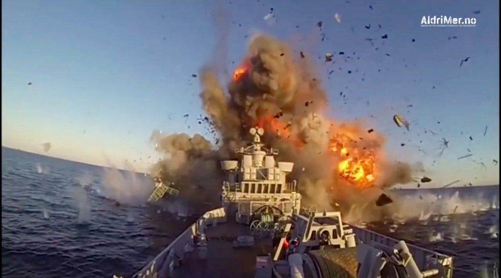 TESTSKYTING: Russisk etterretning har benyttet fisketrålere og xxxxx. Foto: FORSVARETS MEDIESENTER