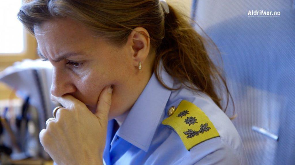 UNNVIKENDE: Politimester Ellen Kathrine Hætta i Finnmark politidistrikt har ansvaret for å ivareta den sivile sikkerheten på norsk side av den norsk-russiske grensen i nord. Hun vil ikke svare på spørsmål om russisk etterretning. Foto: ALDRIMER.NO