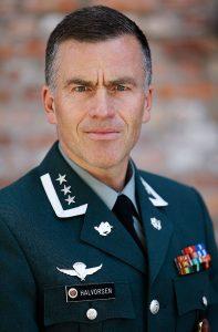 Oberst Sven H. Halvorsen. Foto: FORSVARET