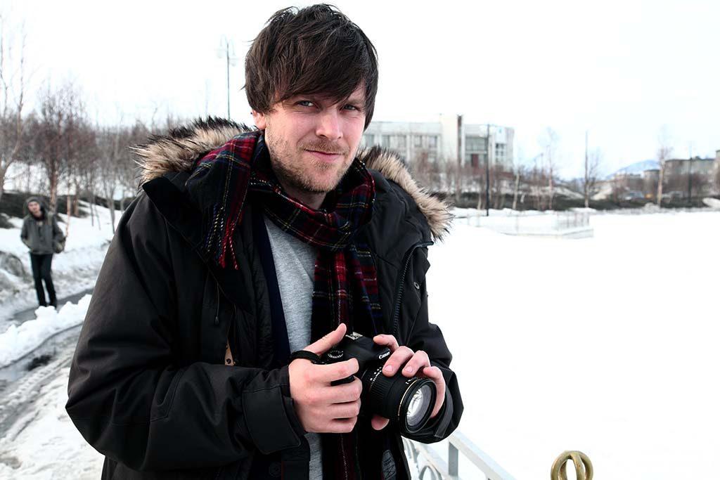 KRITISK: Leder i Barents Press Norge, Amund Trellevik, er kritisk til måten Russland blir dekket på i en del norske medier. Foto: RUNE S. ALEXANDERSEN