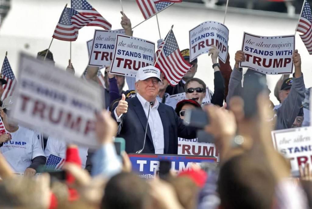Presidentkandidat Donald J. Trump (bildet) har slått fast at dersom han blir president vil medlemmer i NATO ikke være sikre på å få hjelp dersom de blir angrepet. Trump vil først vurdere om landet har bidratt nok til den kollektive sikkerheten i NATO. Foto: TRUMP-KAMPANJEN
