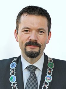 Ordfører Svein Erik Kristiansen (H) i Evenes kommune. Foto: EVENES KOMMUNE