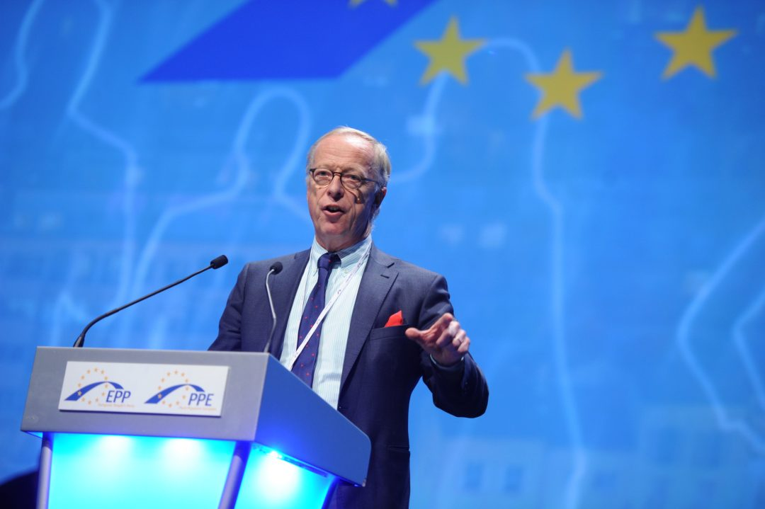 Europaparlamentariker og representant for Moderaterna (M), Gunnar Hökmark. Foto: EUROPEISK FOLKEPARTI