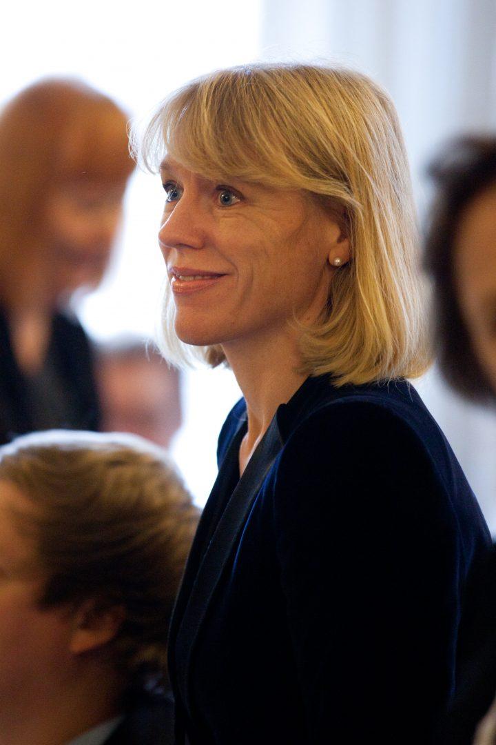 Norges kulturminister Anniken Huitfeldt under ett nordiskt kulturministermöte vid Nordiska Rådets session 2011 i Köpenhamn. Foto: Magnus Fröderberg/norden.org