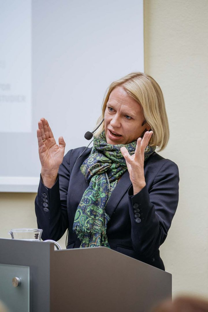 KOMITÉLEDER: Anniken Huitfeldt (Ap). Foto: ALEXANDER SYLTE/FORSVARETS MEDIESENTER