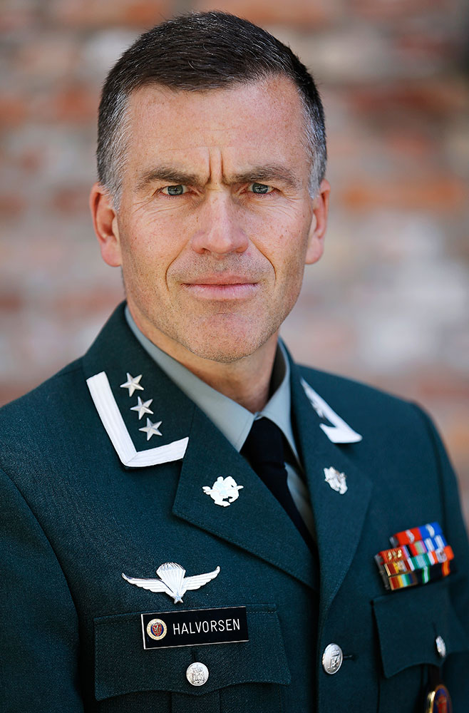 Svein Harald Halvorsen, oberst i Forsvarsdepartementet. Foto: FORSVARET
