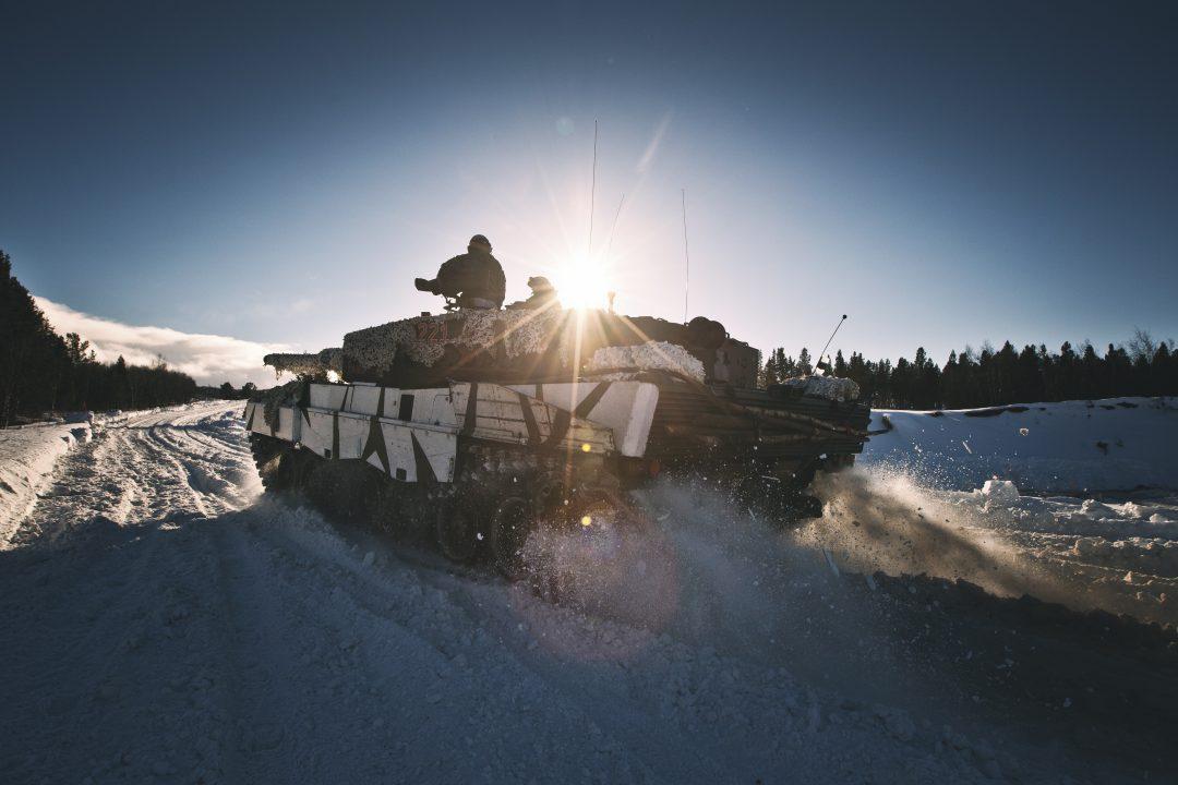 HV-17s innsatsstyrke Ida& Lyra har sin øvelse Jerv under Joint Viking og bedriver egentrening mens de venter på oppdrag // The Home Guard's QRF during the exercise Joint Viking