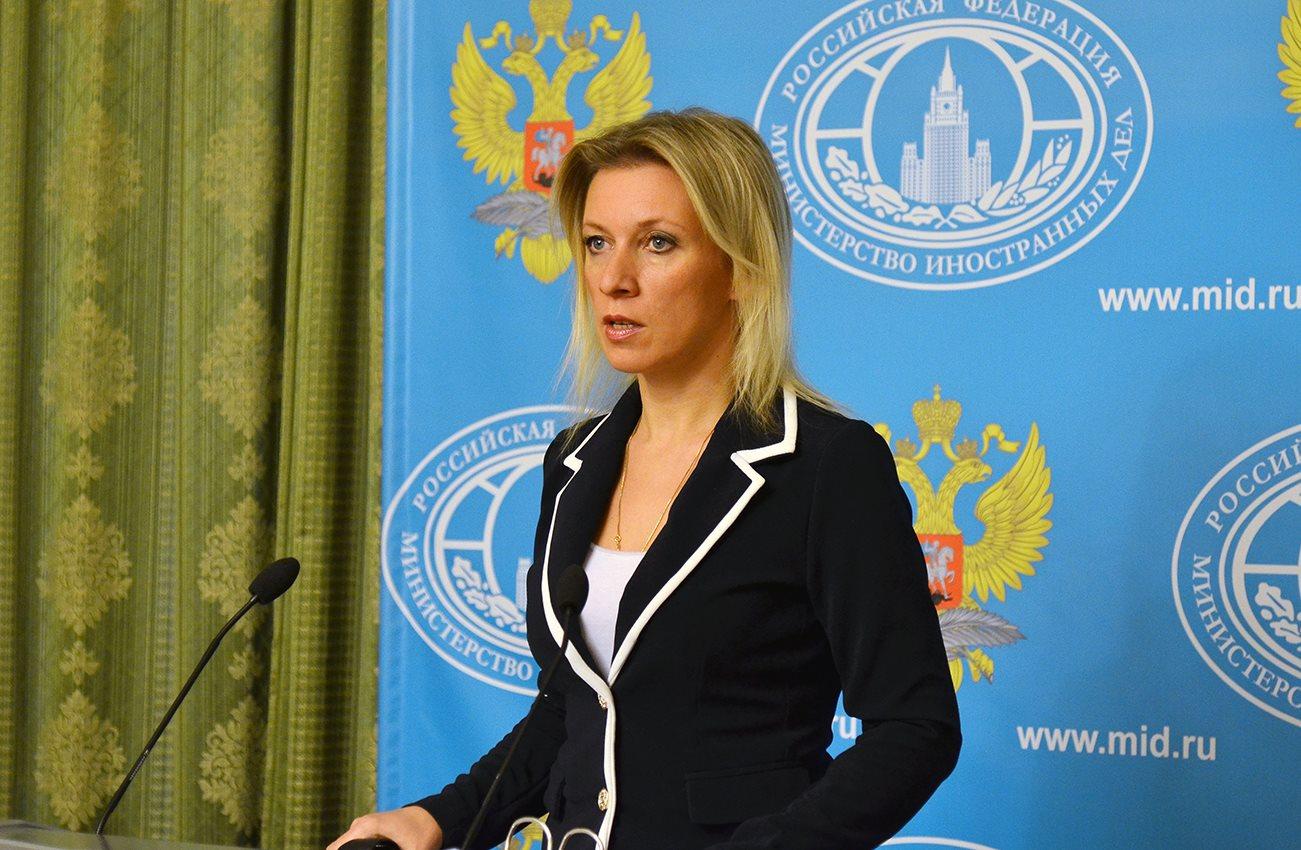 Talskvinne for det russiske utenriksdepartementet, Maria Zakharova. Foto: MID.RU