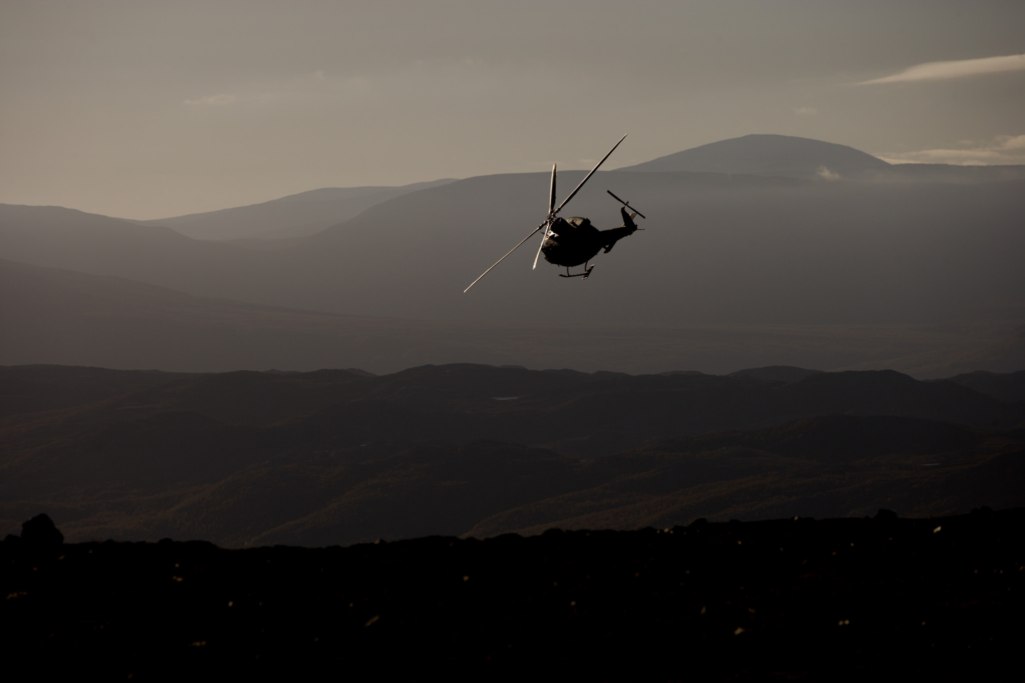 Kritisk til bruk av sivile helikoptre