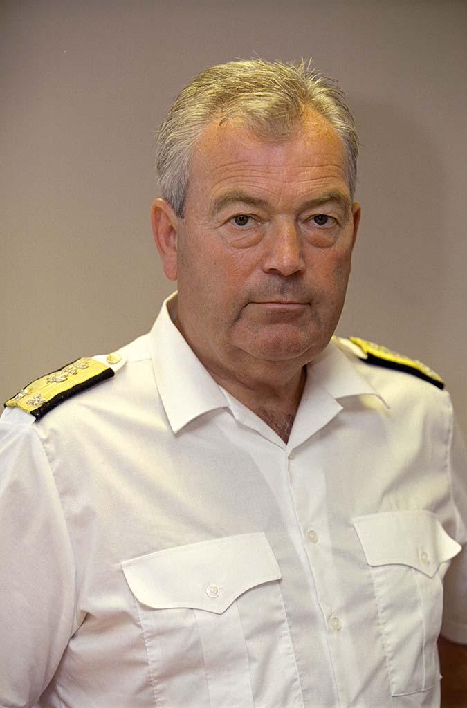 TIDLIGERE UBÅTSJEF: Pensjonert kontreadmiral Jan Jæger. Foto: TORBJØRN KJOSVOLD/FORSVARETS MEDIESENTER