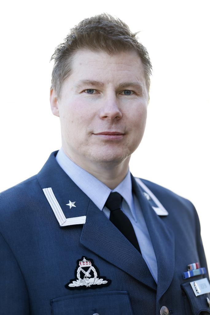 Major Stian Roen. Foto: FORSVARET