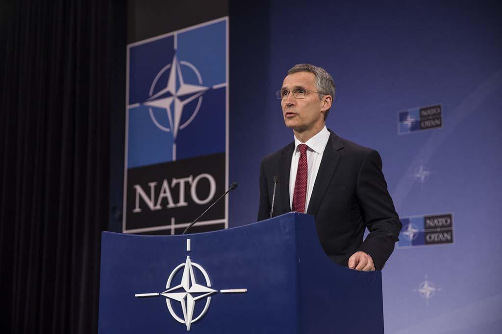 KRAFTIG VEKST I CYBERANGREP: Generalsekretær Jens Stoltenberg sier NATO legger mer vekt på cyberangrep enn før. Foto: NATO
