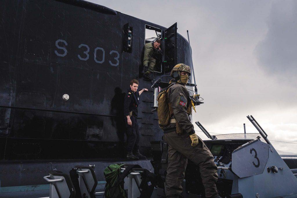 ULA-KLASSEN: Bildet illustrerer en av ubåtene i Ula-klassen. Norge har seks stykker, men to av dem skal fases ut fra rundt år 2022. Foto: PETTER BRENNI GULBRANDSEN/FORSVARETS MEDIESENTER