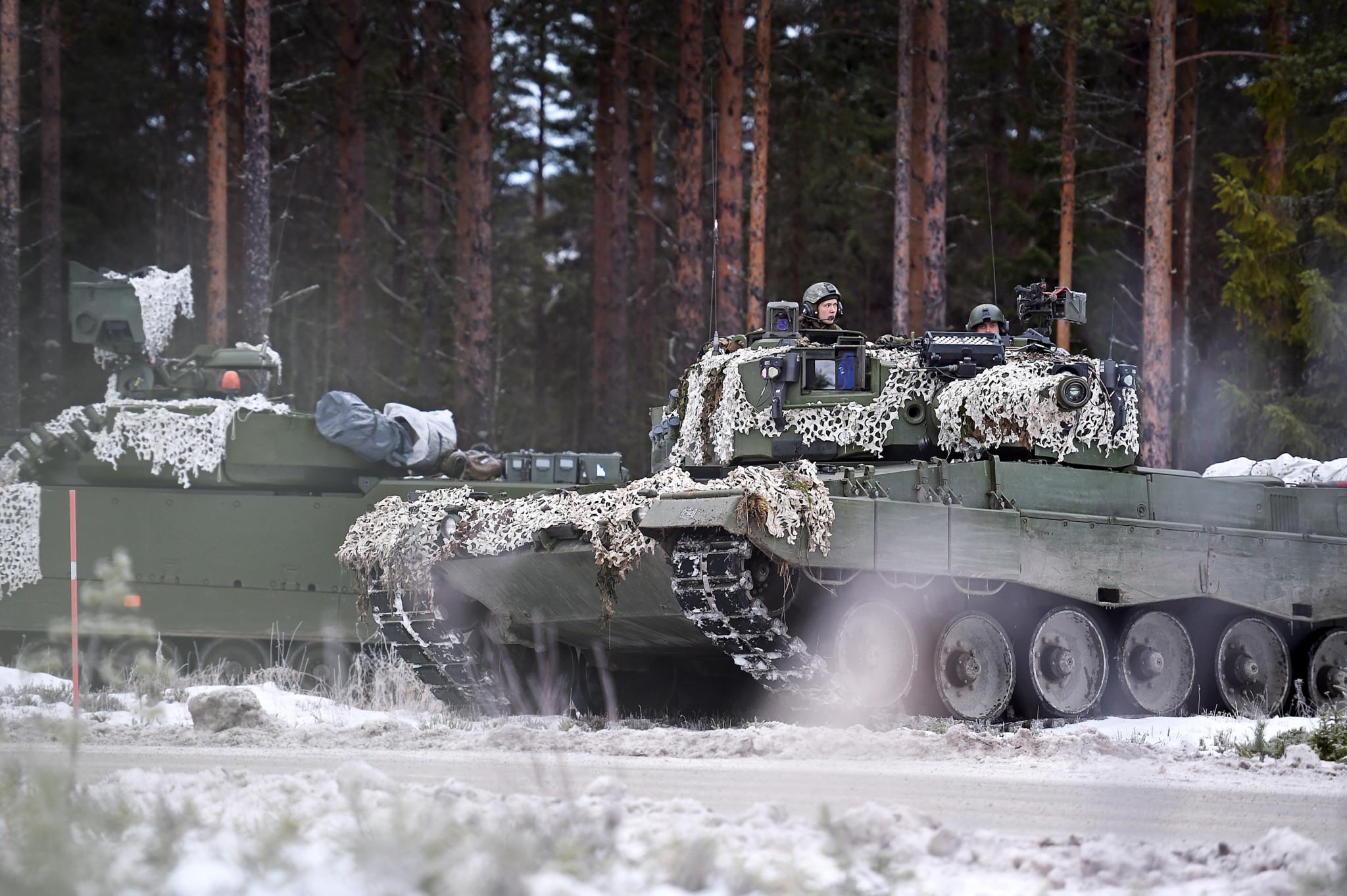 Norske stridsvogner kanonføde for Russland