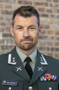 Oberstløytnant Frank Sølvsberg i Forsvarsstaben. Foto: FORSVARET