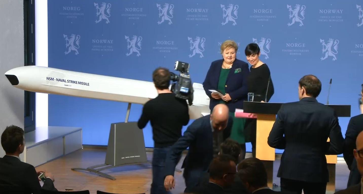 Tyskland kjøper norske missiler