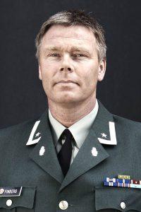 Major Vegard Finberg. Foto: FORSVARET