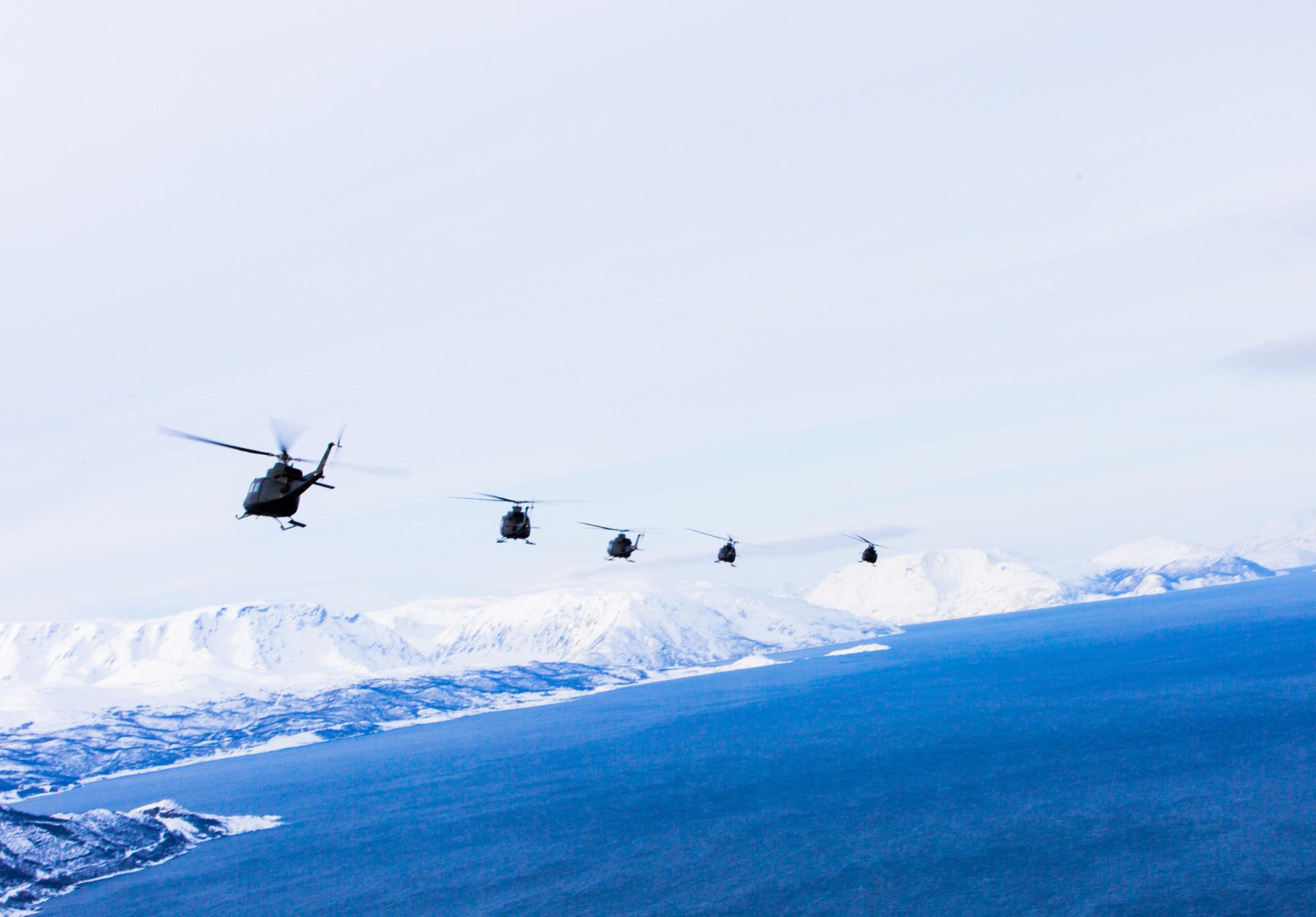 Krever helikopterbase på Bardufoss