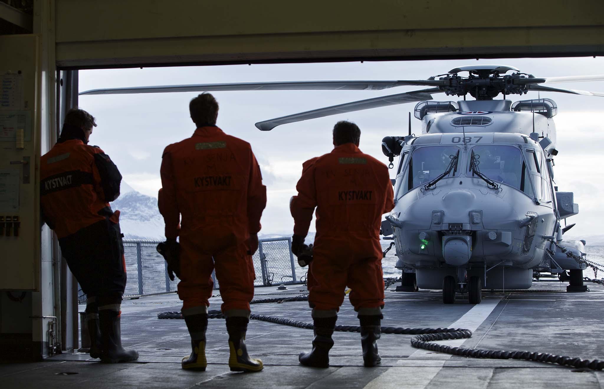 – Mangelen på helikopterstøtte er merkbar