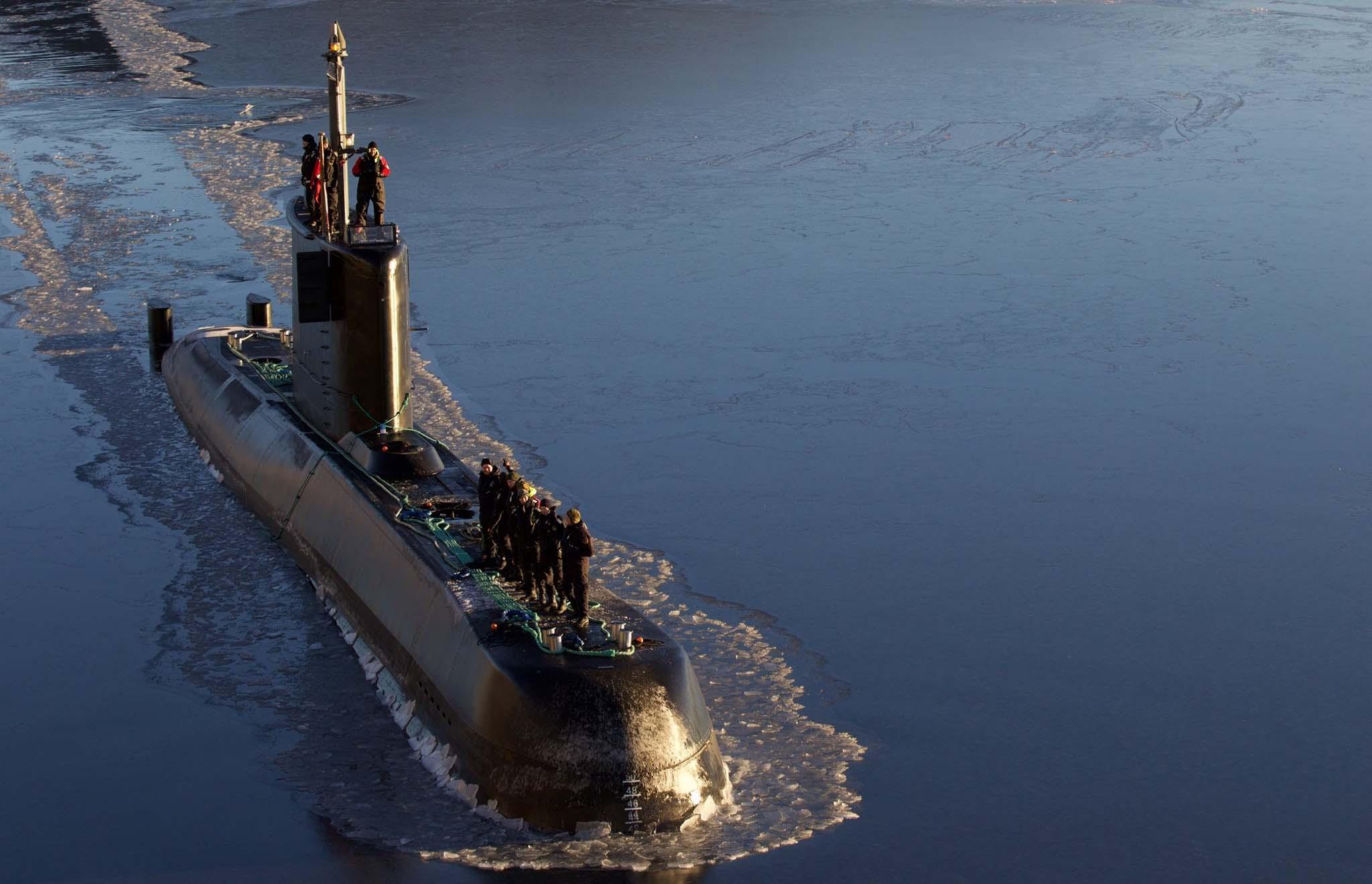 Ubåtene seilte 72 prosent mer