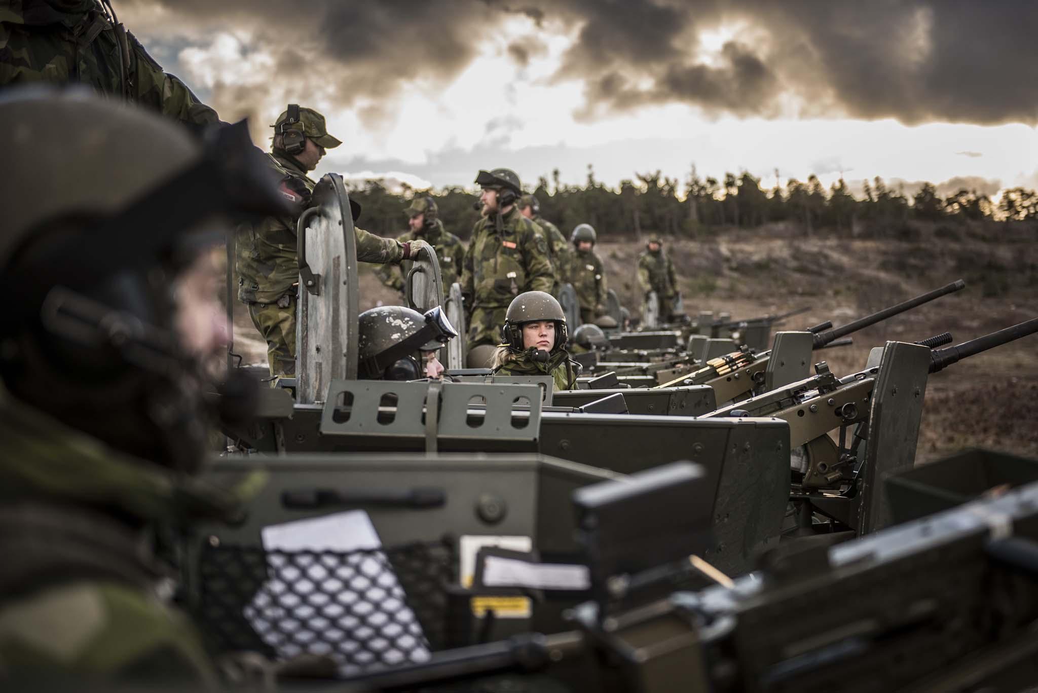 Svenskene frykter angrep